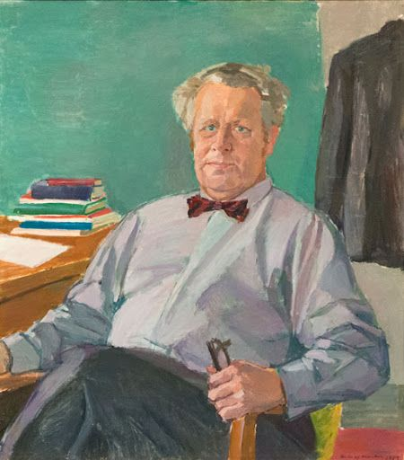 Portrait of Åke Holmberg. Source: Centerlöf & Holmberg